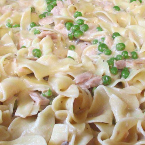 picture of tuna noodle casserole